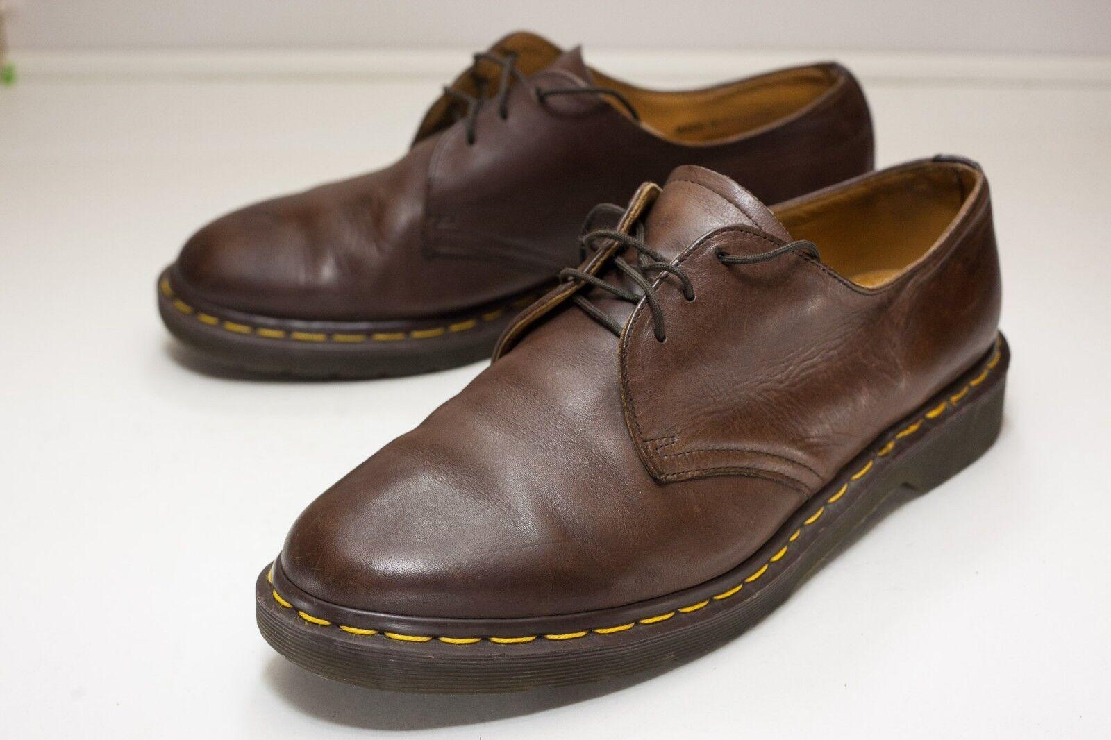 Dr. Martens Size 13 Brown Oxfords Men's - England
