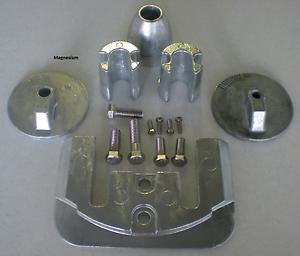 Mercury Optimax Magnesium Anode Kit NEW DEALER DIRECT Military Grade Magnesium