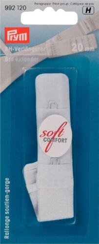 Prym BH-Verlängerer Verlängerung Erweiterung Rückenfrei 20 mm breit weiß 992120