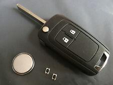 Repair kit for Vauxhall Opel Insignia Astra 2 button remote key Refurbishment