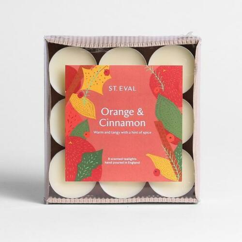 St Eval Scented Tealights Various Fragrances 2x packs of 9