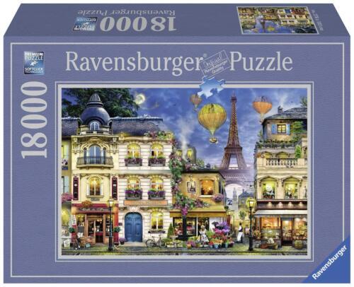 RAVENSBURGER*PUZZLE*18000 TEILE*ABENDSPAZIERGANG DURCH PARIS*OVP