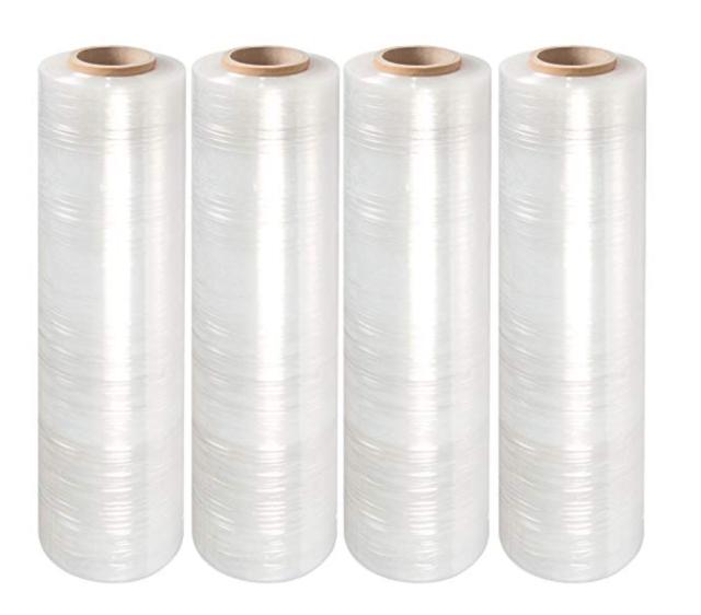 80 Gauge 1 Roll Pallet Wrap Stretch Film Hand Shrink Wrap 18