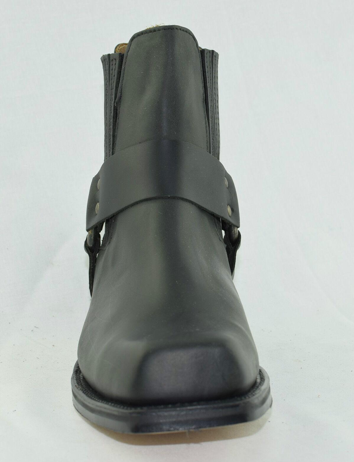 homme  femme de cuir noir loblan bottes de de de cow boy ex western square burin motards site officiel gv2776 chaussures pointues une délicate | Luxuriante Dans La Conception  a21b1d