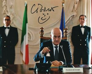 Claudio-Bisio-Foto-autografata-attore-Rare-Signed-Photo-Autografo-Cinema