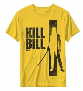 Kill-Bill-The-Bride-Silhouette-Official-Mens-T-Shirt