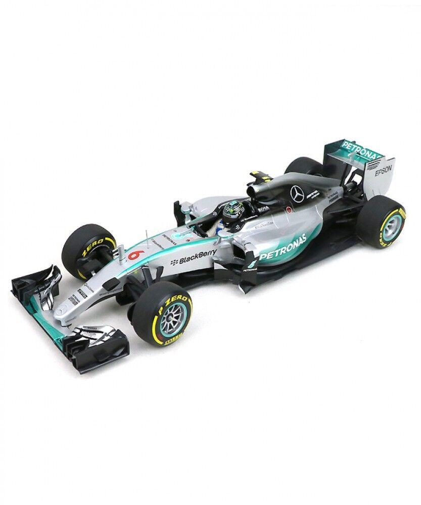 New Minichamps 1/18 Mercedes AMG Petronas W06 Hybrid USA GP 2015 Nico Rosberg