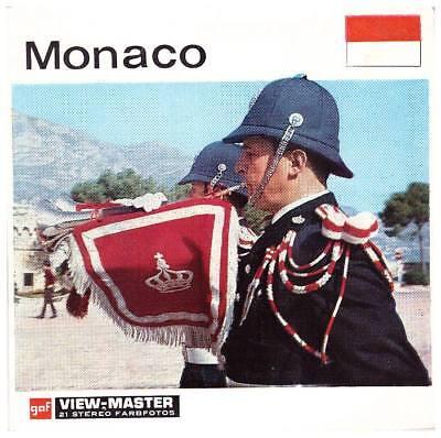 3 View-master 3d Reels????️nationen Der Welt - Monaco - C 115 D - Nr.18 Rar Mit Einem LangjäHrigen Ruf