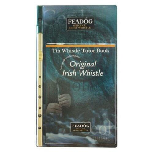 Feadog IW20 Irish Whistle, Key of D, Includes Book