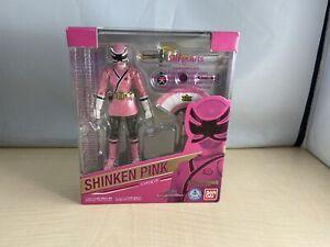 S.H.Figuarts Samurai Sentai Shinkenger Shinken Pink Figure Bandai Japan