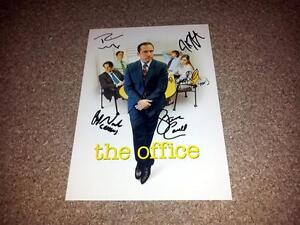 THE-OFFICE-US-PP-CAST-X5-SIGNED-12-034-X8-034-INCH-POSTER-STEVE-CARELL-RAINN-WILSON