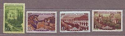 1951 Soviet Georgian Republic Georgia Tbilisi Russian Russia MNH OG Sc# 1586-89