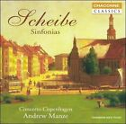 Scheibe: Sinfonias (CD, Chandos)