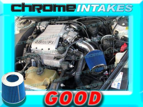 BLACK BLUE 88 89 90 91-93 PONTIAC GRAND PRIX 2.8 2.8L//3.1 3.1L V6 AIR INTAKE KIT