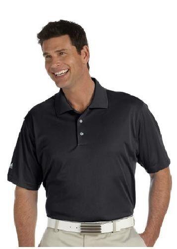 Adidas Polo de golf pour hommes ClimaLite Basic Shirt à manches courtes NOUVELLE TAILLE S-3XL A130