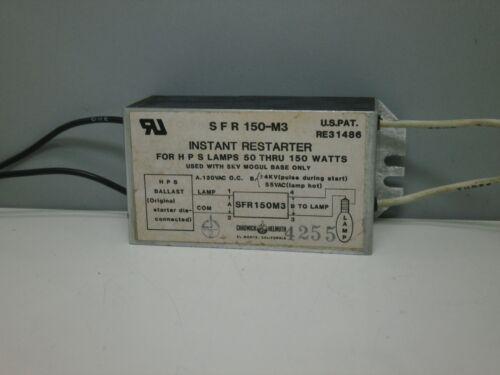 SFR150M3 Instant Restarter for High Pressure Sodium Lamps LU 50W 70W 100W 150W