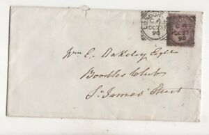 London-WC-C4-Squared-Circle-Postmark-23-Oct-1890-QV-Cover-397b