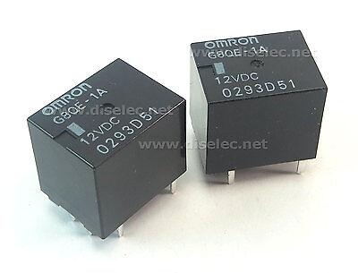 G8QE-1A-12VDC 2 RELÉS G8QE-1A DC12 OMRON G8QE1A ENVÍO URGENTE