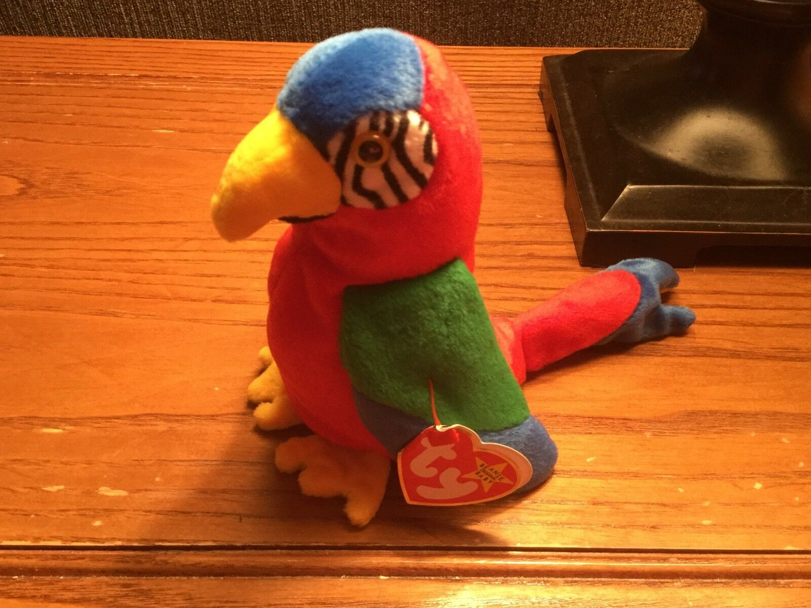 TY Beanie Baby - JABBER the Parred (6.5 inch) - MWMTs Stuffed Animal Toy
