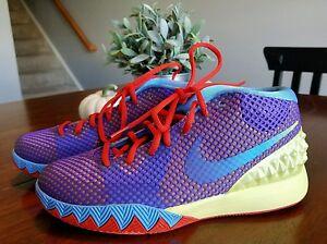b874eb0973b Nike Kyrie 1 Youth Lemon Frost Grape Red Blue Size 6.5 Basketball ...