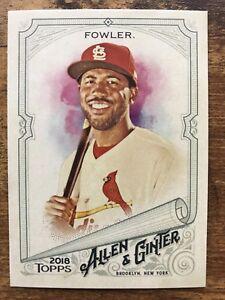 Details About 2018 Allen Ginter Baseball Card 45 Dexter Fowler St Louis Cardinals Mint