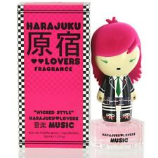 Gwen Stefani Harajuku Lovers Wicked Style Music Eau De Toilette EDT Spray 1 Oz
