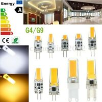 Dimmerabile G4 G9 1.5/2/3/5/6/7/9W COB Lampadina Lampada Luce Bianco Caldo
