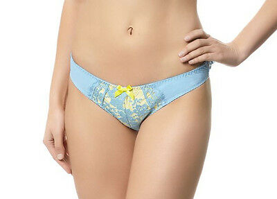 Agent Provocateur Selena Brief Blue//yellow RRP £95.00
