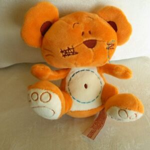 Doudou-Souris-Tiamo-Orange