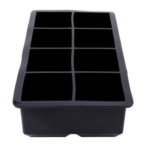 Big Giant Jumbo Large Silicone Ice Cold Cube Freeze Maker Square Tray Mold Mould