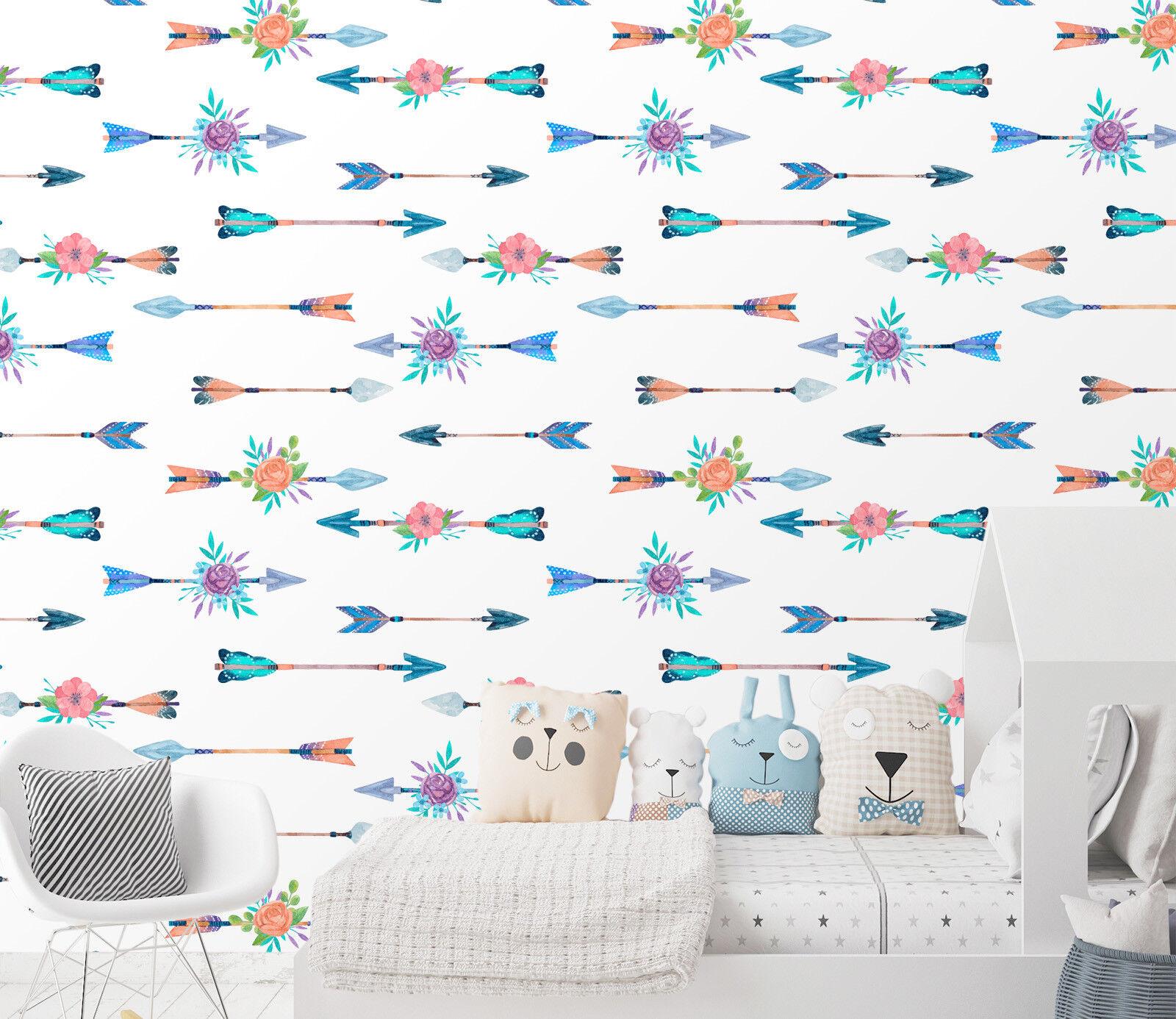 3D Amor Pfeil Blaume 22 Tapete Wandgemälde Tapete Tapeten Familie Kinde DE Lemon