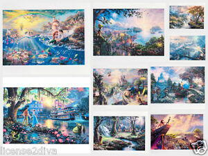 DISNEY-POSTCARDS-OR-FRAMEABLE-PICTURES-4-034-X6-034-BAMBI-SNOW-WHITE-PETER-PAN-amp-MORE