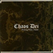 Chaos Dei - Arising From Chaos CD 2012 black metal France Hyadningar