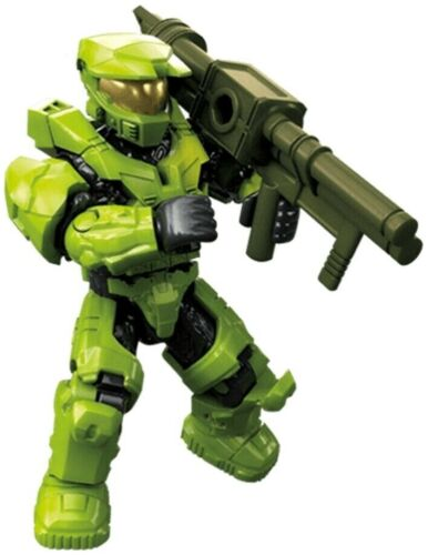 Mega Construx HALO 2020 CLASH ON THE RING Series SPARTAN MARK V GREEN NEW in Bag