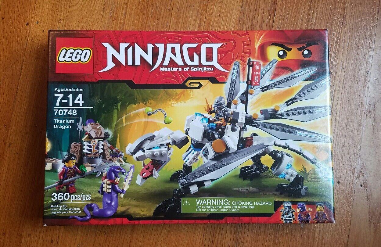 produttori fornitura diretta Lego 70748 Ninjago Ninjago Ninjago Titanium Dragon - NISB  i nuovi stili più caldi