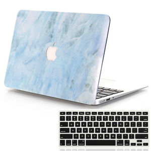 size 40 10446 42869 2in1 Light Blue Marble #4 Matte Hard Case for MacBook 12