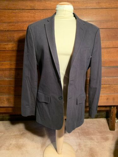 Banana Republic Tailored Fit Suit Coat Pinstrip De