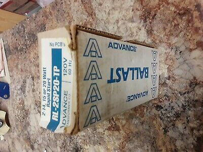 Advance Ballast RL-2SP20-TP Two 14,15 or 20 Watt Rapid Start New!!