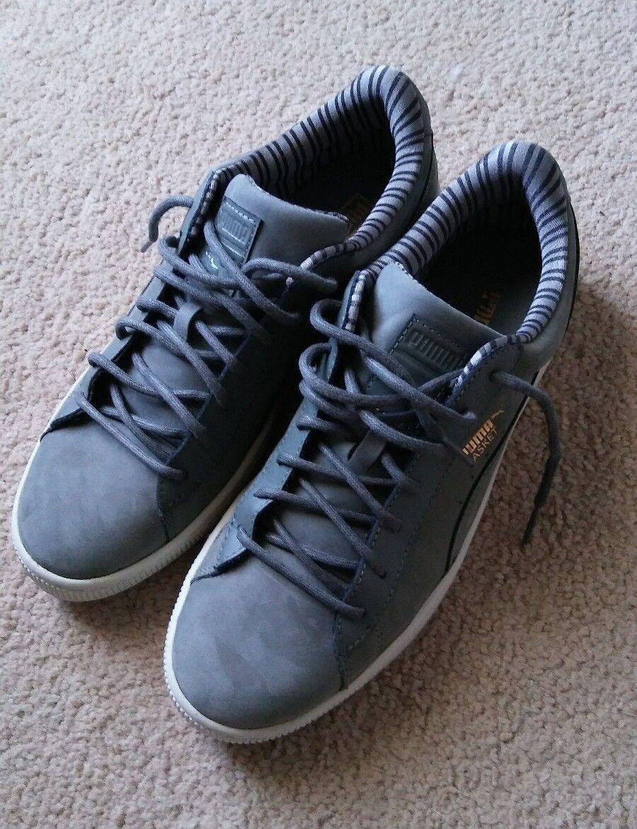 Puma Basket Classic Citi Womens Trainers Grey New Shoes 35993802 sz 10 U.S.
