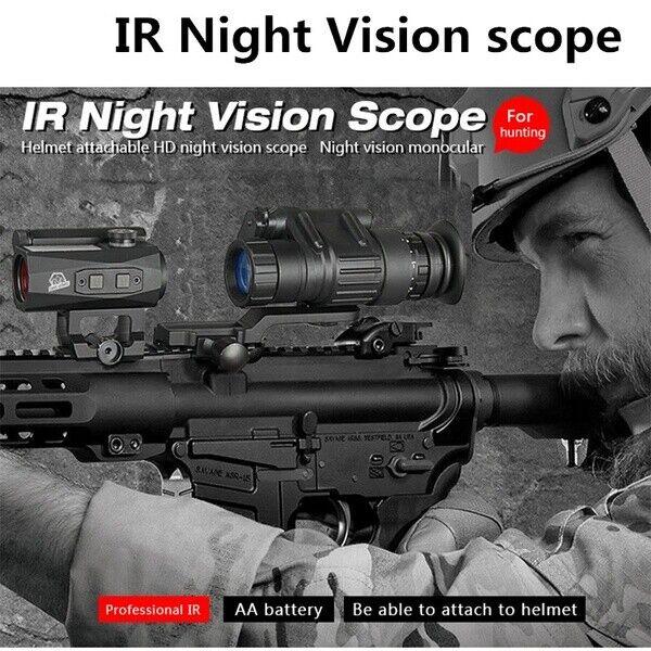Venta súperIOR dispositivo infrarrojo digital de alcance de visión nocturna para la caza Monocular