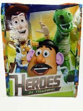 DISNEY TOY STORY HEROES KID CHILDREN INSULATED ZAK SAK LUNCH BOX BAG PICNIC SACK