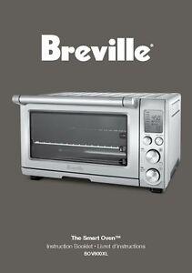 breville bov800xl smart oven owners manual ebay rh ebay co uk BOV800XL Sale Toaster Oven