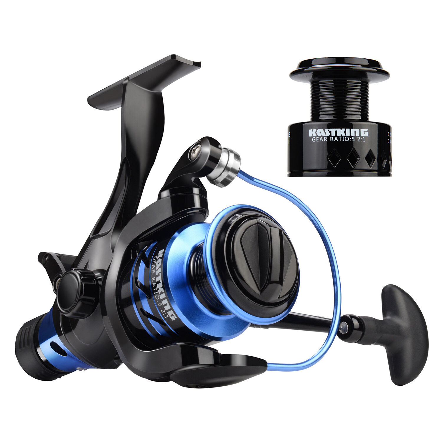 KastKing Pontus  Spinning Reel Front And Rear Drag Live Lining Fishing Reel  free shipping on all orders