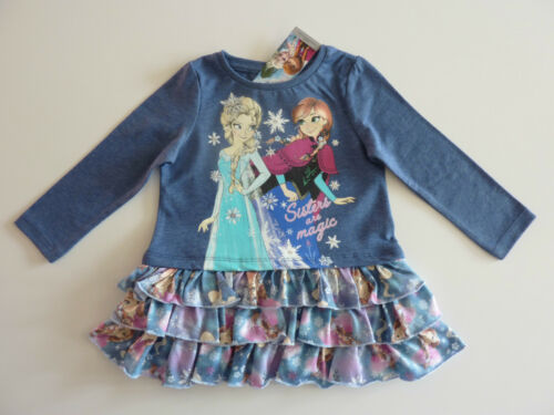 Disney vraiment Mignon congelés jupe superposée robe NWT