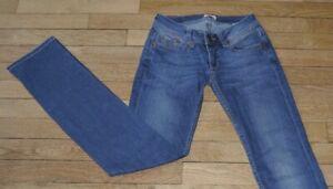 TOMMY-HILFIGER-Jeans-pour-Femme-W-24-L-32-Taille-Fr-34-Ref-K015