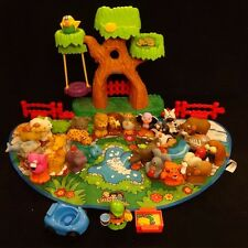 Fisher Price Little People Alphabet Zoo Tree House A-Z Animals Sounds Work!