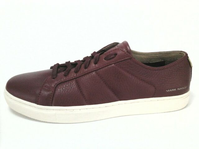 dffbf09a3e8b MARK NASON Skechers Shoes Venice Fashion Sneakers Dark Red Men s 9.5 EU 42.5