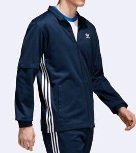 Details about NEW adidas Originals ADIBREAK SNAP TRACK JACKET Mens SMALL Conavy CW1266 $90
