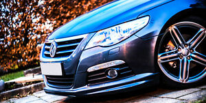 VW-PASSAT-CC-R-LINE-STYLE-FRONT-BUMPER-SPOILER-SKIRT-VALANCE-2008-2012