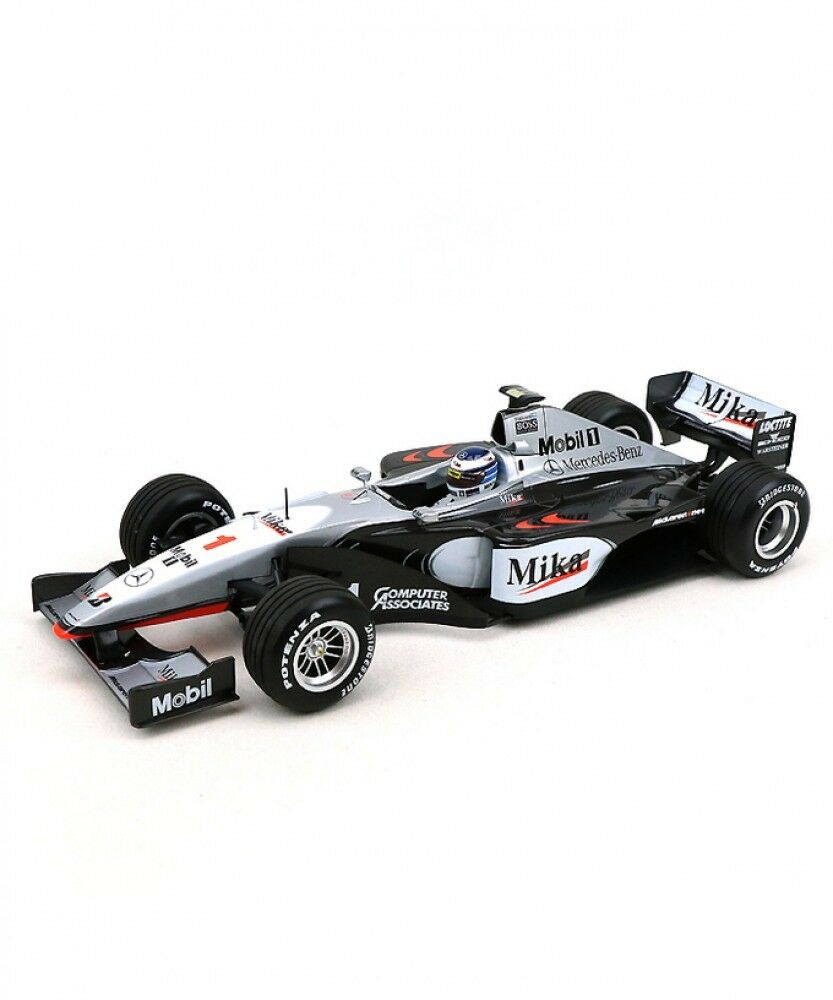 New Minichamps 1 18 McLaren Mercedes MP4 14 Mika Häkkinen World Champion 1999